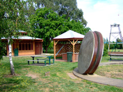 Entrance to De Soza Park Buninyong